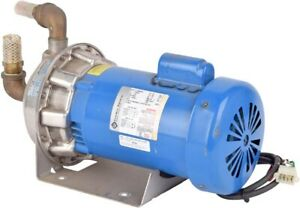 G l A Goulds Pumps 1x1 1 4 6 53 16 Imp 1 1 2hp Stainless Steel Centrifugal Pump