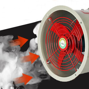 12 Explosion Proof Exhaust Fan 180w 1450rpm 110v 4 Blades 110 V