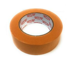 Finish rite Automotive Refinish Orange Masking Tape 1 1 2 X 60 Yds