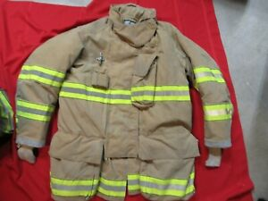 Mfg 2011 Globe Gxtreme 46 X 35 Firefighter Turnout Bunker Jacket Fire Rescue