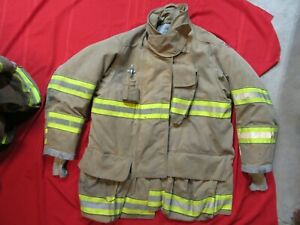 Mfg 2011 Globe Gxtreme 48 X 35 Firefighter Turnout Bunker Jacket Fire Rescue