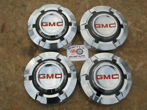 1968 74 Gmc 1 2 Ton Pickup Truck Van Dog Dish Hubcaps Set Of 4 stainless