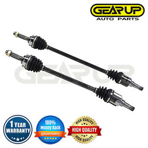 New Pair Rear Cv Drive Axle Shaft Assembly For Jeep Compass Patriot 4wd