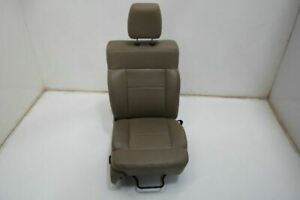 2004 08 Ford F150 Passenger Front Seat Assembly 40 20 40 Bench Seat Tan Leather