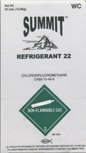 30 Lbs R22 Refrigerant Made In The Usa Knoxville Tn