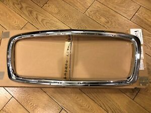 2011 2018 Bentley Continental Gt Gtc Radiator Chrome Grill Trim Special Offer