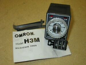 Nos Omron H3m Solid state Timer Series C