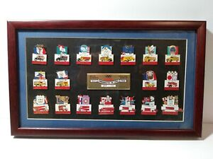 Winter Olympics (Olympiads) Coca Cola Vehicles Commemorative Pins Series Set