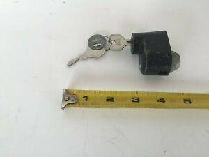 Nos Hurd Wheel Lock 2 Keys Packard Cadillac Ford Chevrolet Chrysler Dodge