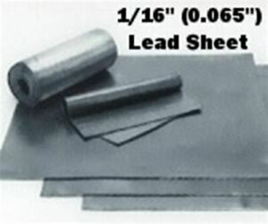 Roof Flashing Sheet Lead 1 16 30 X 30 Special Sheeting