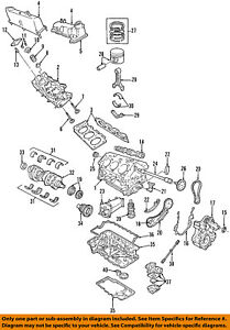Ford Oem engine Timing Cover 5l2z6019aa