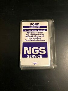 Ford Ngs New Generation Star Tester Card Purple My 2005 Later Non Can