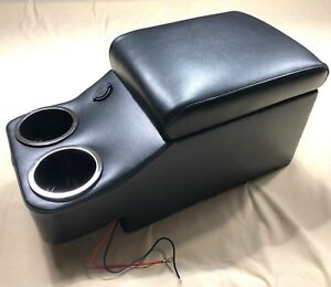 Center Floor Console For Mopar A b c e Body Black 1699