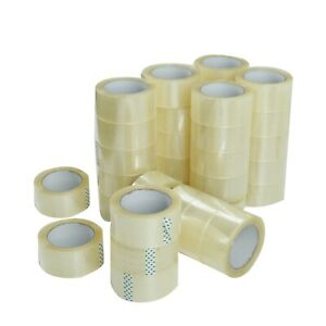 36 Rolls Clear Packing Packaging Carton Sealing Tape 1 8 Mil Thick 2 X 110 Yard
