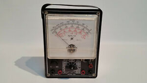 Vintage 1930 s Electronic Measurements Corp Meter Model 104 Volt Ohms Meter