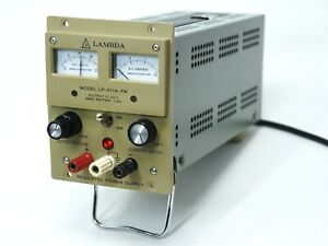 Lamda Lp 411a fm Power Supply 0 20 Vdc 0 To 1 2 Amp Load Tested