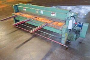 Wysong 1010 rd 10 X 10 Ga Mechanical Squaring Shear