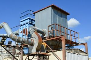Donaldson torit 96 Hpt Baghouse Dust Collection System With Rotary Air Lock