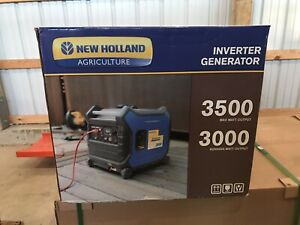 New Holland 3500 3000 Watt Inverter generator P n Bn3500ig
