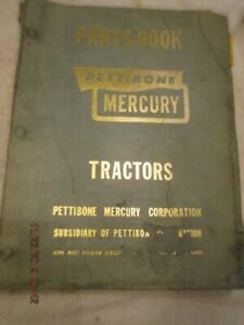 Pettibone Mercury Forklift Banty Model A 3wgt 1 Service Parts Catalog Manual