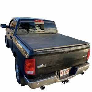 Hard Tri fold Tonneau Cover Easy Install For Dodge Ram Crew Cab 5 7ft Short Bed