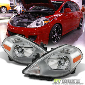 For 2007 2012 Versa Replacement Headlights Replacement 07 12 Headlamp Left Right