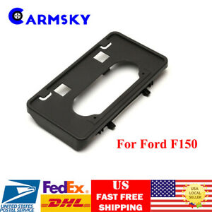 Front License Plate Tag Holder Mount Adapter Bumper Bracket For 09 14 Ford F150
