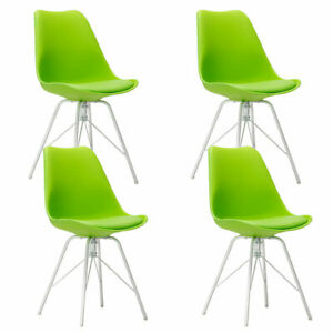 Set Of 4 Upholstered Dining Side Chairs Living Room Office Accent Leisure Chair