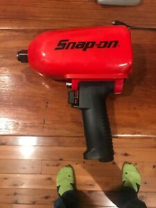 Snap on Tools Super Duty Impact Air Wrench Mg1250 3 4 Drive