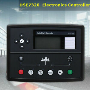 Professional Generator Auto Start Control Module Panel Dse7320 Lcd Screen
