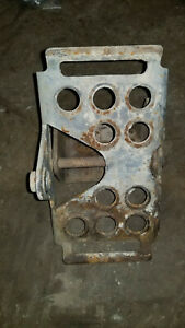 Bobcat 843 Foot Pedal W mount 7115219 Was 6726680 6564722