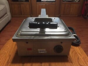 Electromaster 14 Electric Jumbo Panini Sandwich Press Grill Commercial Plate