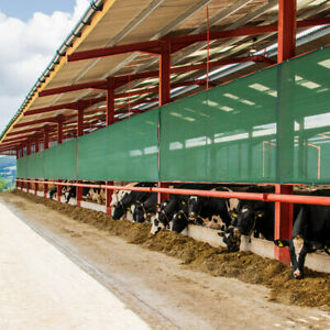 Mesh Livestock Panels 2 Sizes Cattle Windbreaks 50 Shade Protection