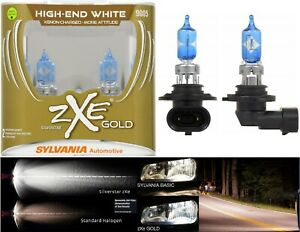 Sylvania Silverstar Zxe Gold 9005 Hb3 65w Two Bulbs Head Light High Lamp Upgrade