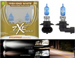 Sylvania Silverstar Zxe Gold 9005 Hb3 65w Two Bulbs Head Light High Beam Replace