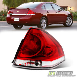 2006 2013 Chevy Impala Tail Light Brake Lamp Replacement Rh Passenger Right Side
