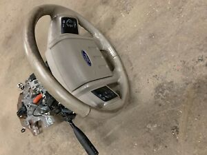 2008 2010 Ford F350 Steering Column W Lower Arm