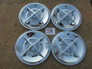 15 Cross Bar Wheel Covers Hubcaps Set Of 4 clearance Sale