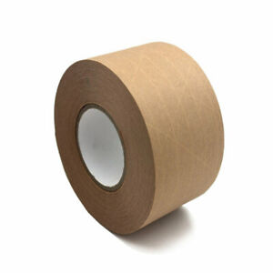 Water activated Tape For Secure Packing Gummed Shipping Kraft Paper Carton Box