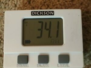 Dickson Tm320 Temperature And Humidity Lcd Display Logger