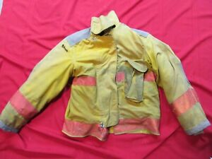 Janesville 42 Chest X 29r Firefighter Jacket Coat Bunker Turn Out Gear Rescue