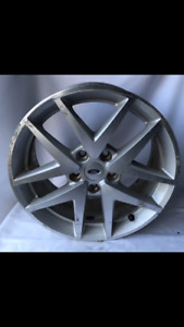 Used 17 x 7 5jx44 00 Ford Fusion 2010 2011 2012 Factory Oem Rim Wheel Silver