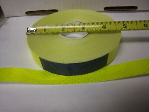 3m Fluorescent Neon Yellow 983 326 Reflective Conspicuity Tape 3 4 X 47 Feet