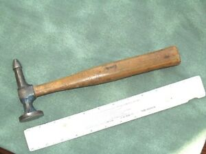 Vintage Body Hammer Unmarked Blunt Point Utility Pick Hammer 12oz Oa Weight
