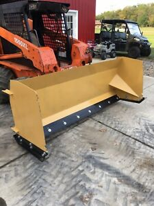 New Heavy Duty 93 Skid Steer Snow Pusher Snow Plow W quick Attach Coupler ohio