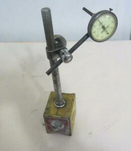 Vintage Enco 300 Magnetic Base W federal Indicator V81