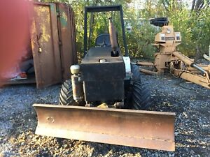 Trencher Mini Bulldozer Diesel Hydraulic 6 Trench Tractor Not Sure What Brand