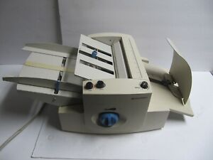 Pitney Bowes Paper Folding Machine Fd30 Mail Folder Read