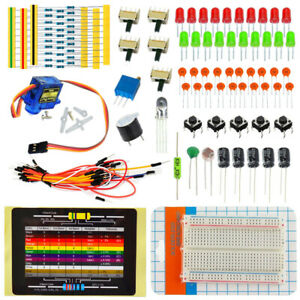 Electronic Components Programmable Parts Starter Diy Kit For Arduino Uno Project
