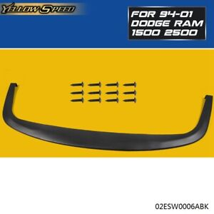 Universal Fit Front Bumper Lip Chin Splitter Polypropylene check Measurement Pp